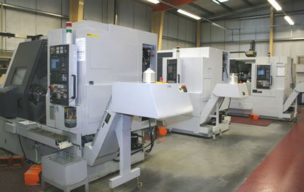 Three new twin spindle lathes